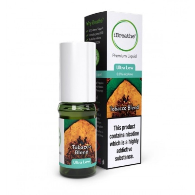 TOBACCO BLEND iBreathe Premium E-Liquid 10ml